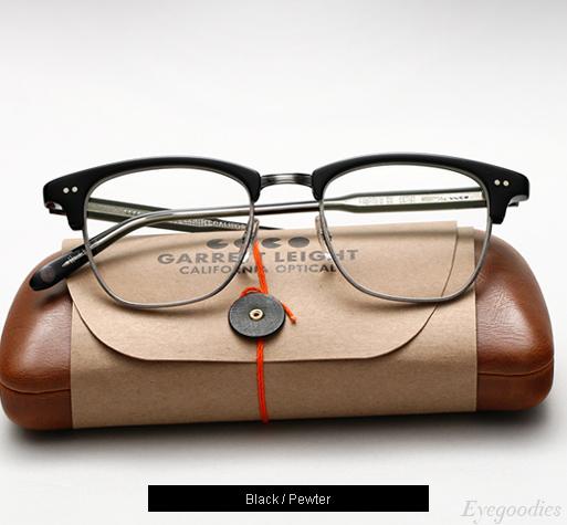 Garrett Leight Lincoln eyeglasses - Black