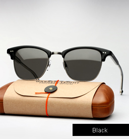 Garrett Leight Lincoln sunglasses - Black