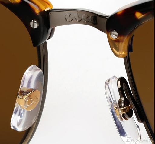Garrett Leight Lincoln sunglasses - Dark Tortoise