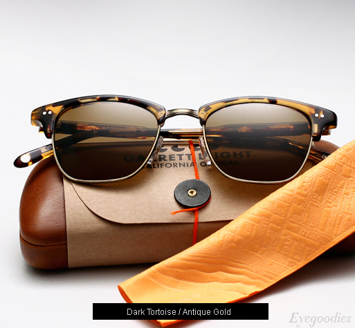 Garrett Leight Lincoln sunglasses - Dark Tortoise