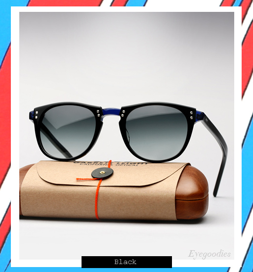 Garrett Leight x Thierry Lasry | Number 2 sunglasses - Black