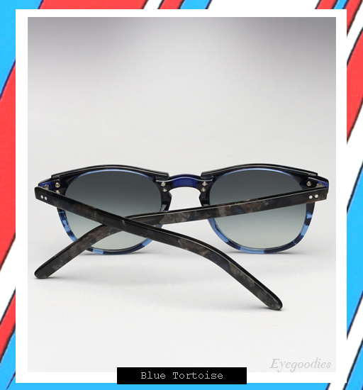 Garrett Leight x Thierry Lasry | Number 2 sunglasses - Blue Tortoise