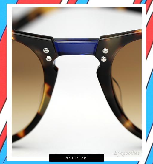 Garrett Leight x Thierry Lasry | Number 2 sunglasses - Tortoise