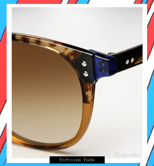 Garrett Leight x Thierry Lasry | Number 2 sunglasses - Tortoise Fade