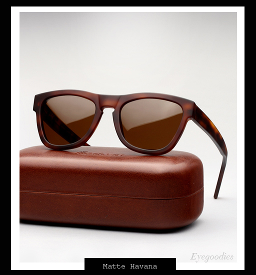 Illesteva x Lou Reed Waverly Sunglasses - Matte Havana