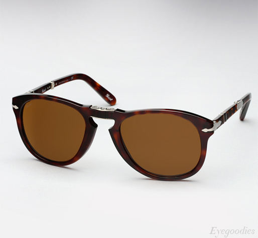 Persol 714 SM sunglasses - Tortoise w/ Brown lenses