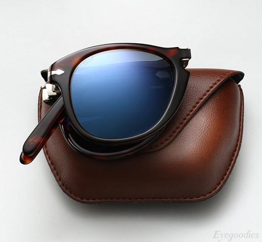0e546db7fbd Persol 714SM Sunglasses - Blue Lenses - Steve McQueen