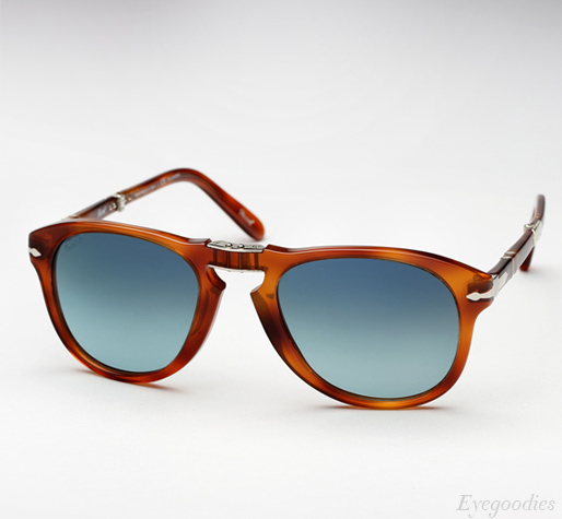 08a4467e14a5 Persol 714 SM sunglasses - Honey Tortoise w/ Blue gradient Polarized