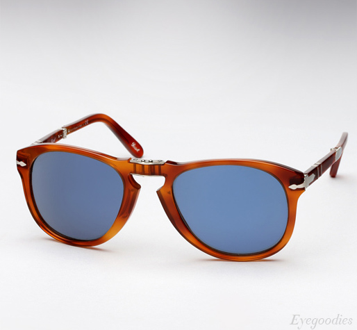 5014fdb31c ... Persol 714 SM sunglasses - Honey Tortoise w  Blue Lenses