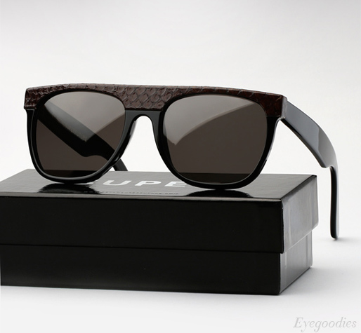 Super Flat Top Cobra Black sunglasses