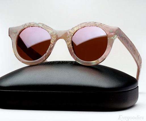Cutler and Gross 0737 - Frost on Lilac Pearl sunglasses
