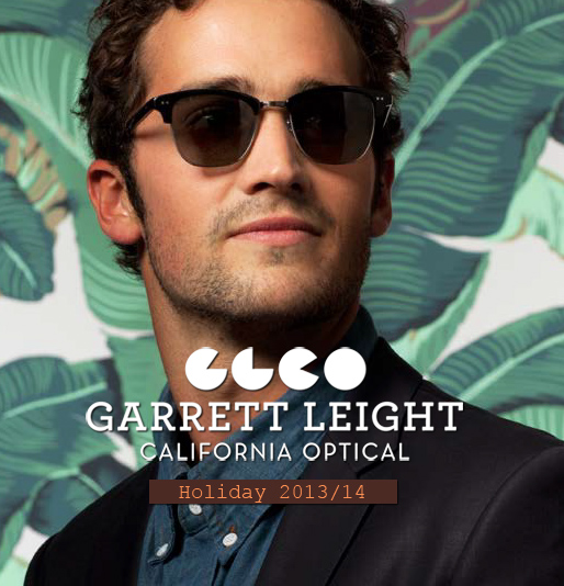 Garrett Leight California Optical - Holiday 2013/14