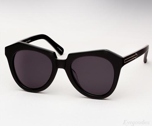 Karen Walker Number One - Black sunglasses