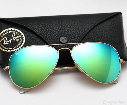 Ray Ban Aviator Colored Mirror sunglasses