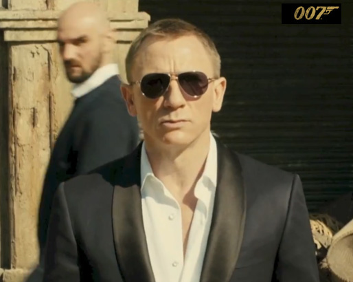 James Bond wearing the Marko in Skyfall