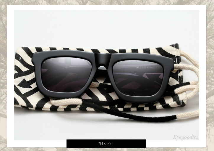 Karen Walker Deep Worship sunglasses - Black