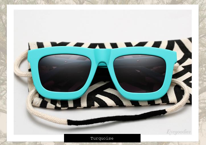 Karen Walker Deep Worship sunglasses - Turquoise