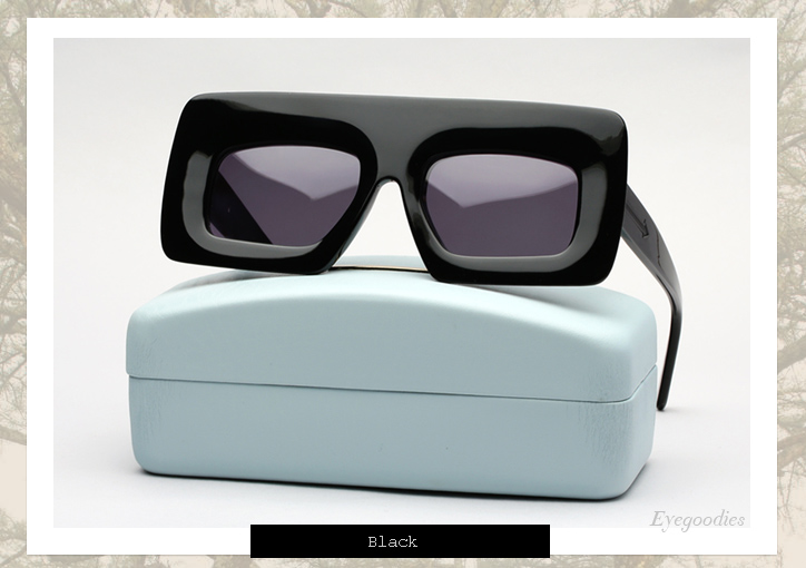 Karen Walker Enlightened sunglasses - Black