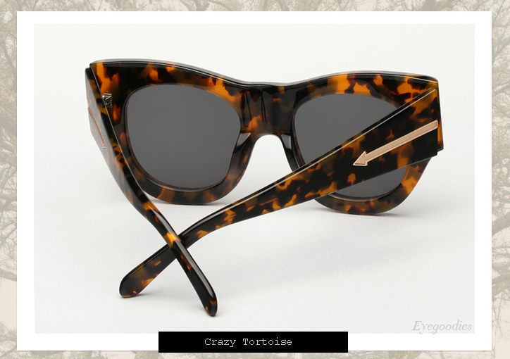 Karen Walker Faithful sunglasses - Tortoise