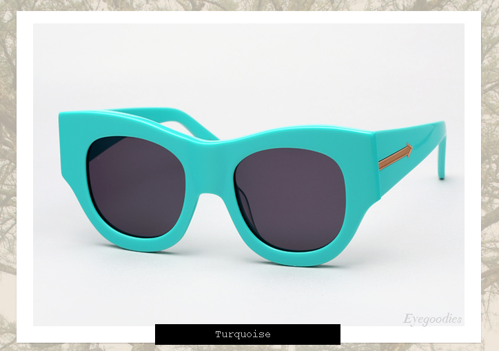 Karen Walker Faithful sunglasses - Turquoise