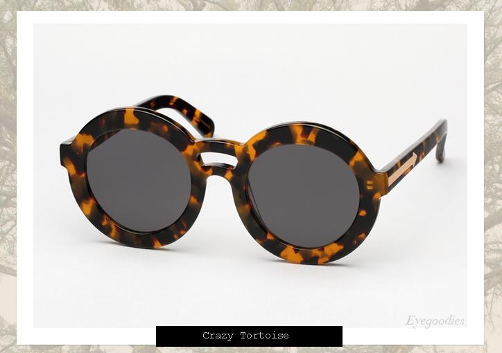 Karen Walker Joyous sunglasses - Tortoise