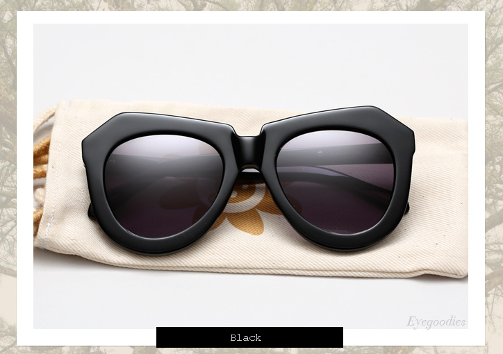 Karen Walker One Worship sunglasses - Black