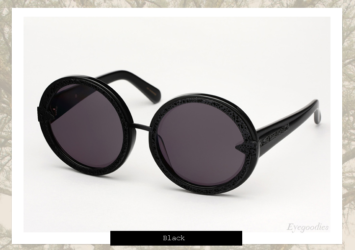 Karen Walker Orbit Filigree sunglasses - Black