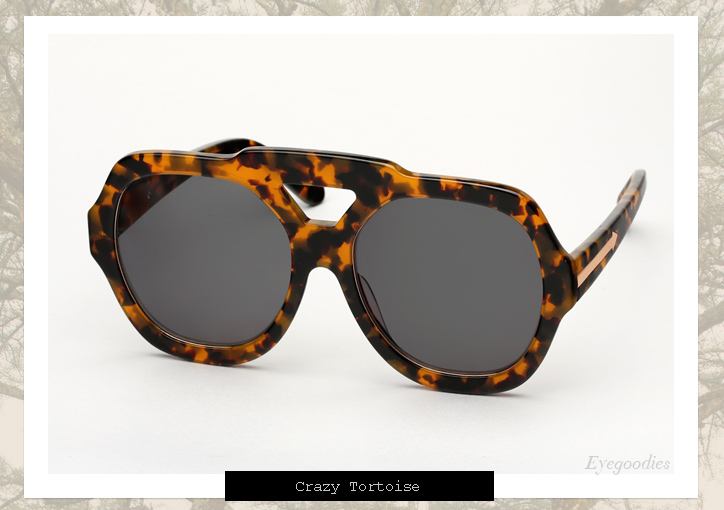 Karen Walker Utopia sunglasses - Tortoise