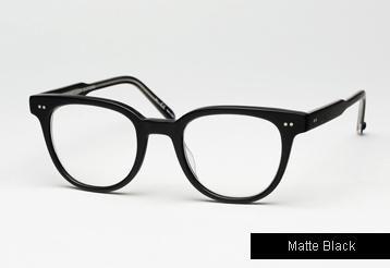 Garrett Leight Angelus eyeglasses - Matte Black