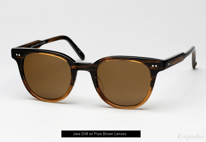 Garrett Leight Angelus sunglasses - Java Drift