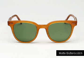 Garrett Leight Angelus sunglasses - Matte Butterscotch