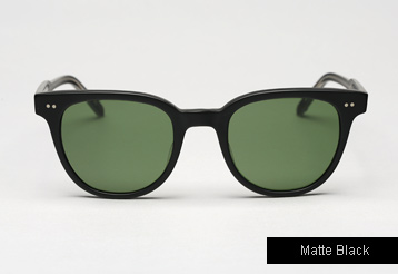 Garrett Leight Angelus sunglasses - Matte Black