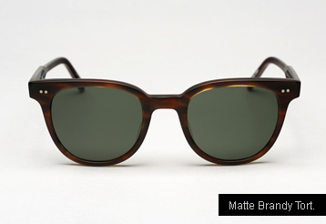 Garrett Leight Angelus sunglasses - Matte Brandy Tortoise