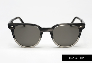 Garrett Leight Angelus sunglasses - Smoke Drift
