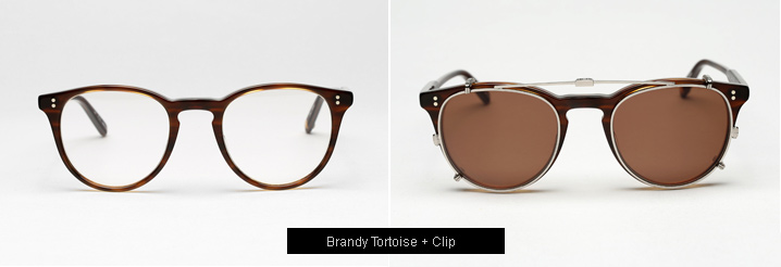 Garrett Leight Milwood Eyeglasses - Brandy Tortoise