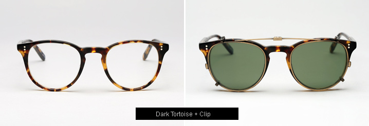 Garrett Leight Milwood Eyeglasses - Dark Tortoise
