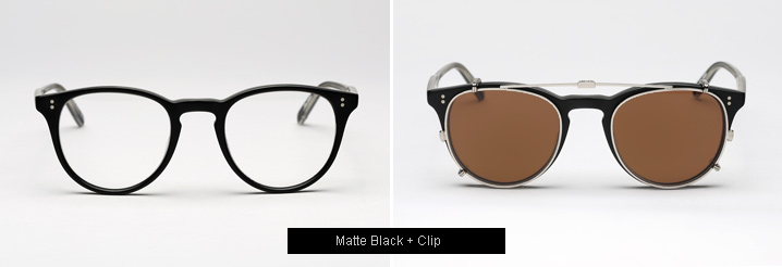 Garrett Leight Milwood Eyeglasses - Matte Black