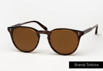 Garrett Leight Milwood sunglasses - Brandy Tortoise