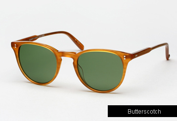 Garrett Leight Milwood sunglasses - Butterscotch