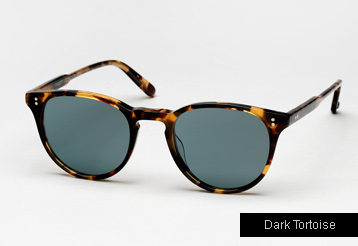 Garrett Leight Milwood sunglasses - Dark Tortoise