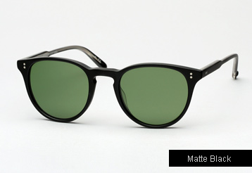Garrett Leight Milwood sunglasses - Matte Black