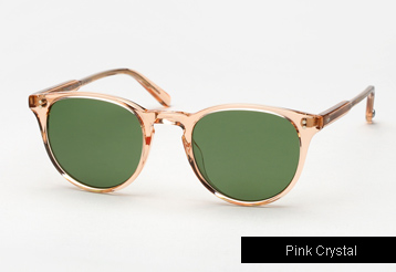 Garrett Leight Milwood sunglasses - Pink Crystal