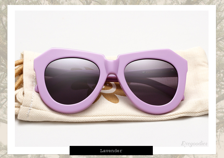 Karen Walker One Worship sunglasses - Lavender