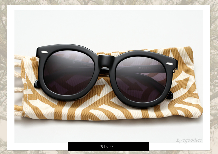 Karen Walker Super Worship sunglasses - Black