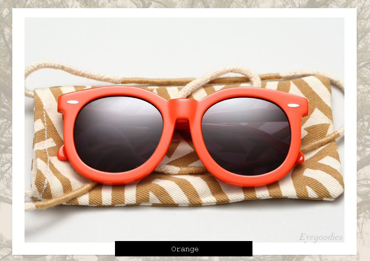 Karen Walker Super Worship sunglasses - Orange