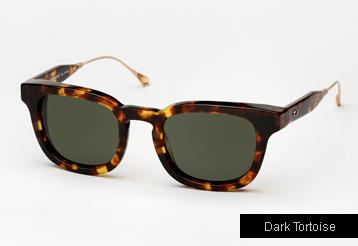 Oliver Peoples West Cabrillo sunglasses - Dark Tortoise