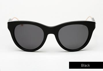 Oliver Peoples West Latigo sunglasses - Black w/ Fint Polarized