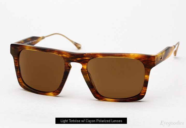 Oliver Peoples West San Luis sunglasses - Light Tortoise