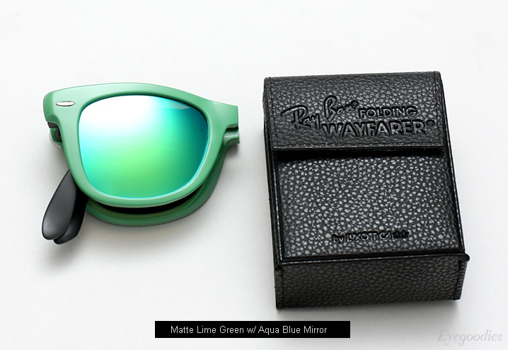 ray ban sunglasses folding wayfarer rb 2038  ray ban rb 4105 folding wayfarer matte green. ray ban sunglasses
