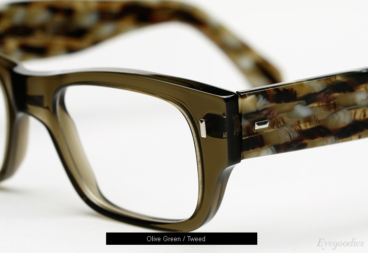 Cutler and Gross 0692 eyeglasses - Olive / Tweed